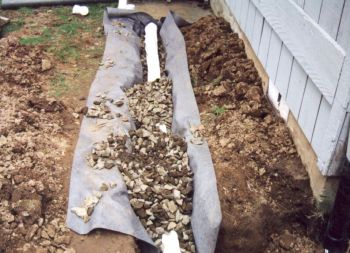 French Drains Ditches And Swales Maggie S Farm