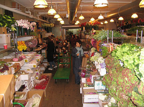 The new york flower market maggie 39 s farm for Hunt and fish club nyc