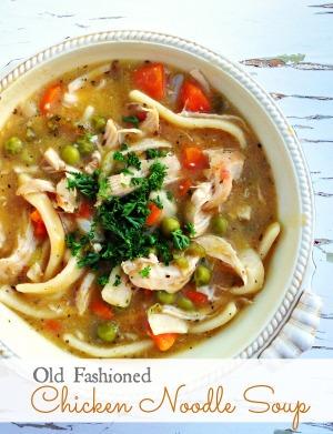Old Fashioned Jewish Chicken Soup Recipe